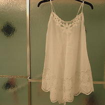 In Bloom by Jonquil Lingerie  Gown  Size - Large   Nwt 100%Cotton  White Photo