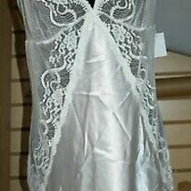 In Bloom by Jonquil Womens Sleepwear Babydoll Chemise - Off White Ivory Size Xl Photo