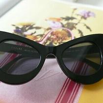 In Bloom. Celine Women Sunglasses Cat-Eye Color Black Frame With Black Lenses Photo