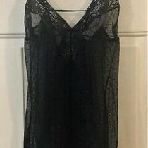 In Bloom Women's Black Lacy Teddy Size Large Photo