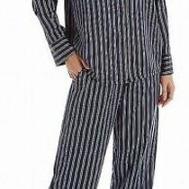 In Bloom Womens Sleepwear Blue Medium M Whistler Striped Pajama Sets 72 968 Photo