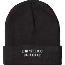 In My Blood Bagatelle Embroidered Beanie Cap Photo