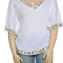 Inc Beach Blouse Size Xs Photo