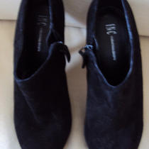 Inc Black Booties Size 7 Photo