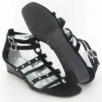 Inc Dada Black Sandals Womens Size 8.5 M New 79 Photo