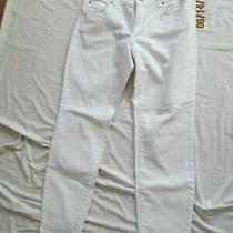 Inc Denim Jeans White Skinny Leg Curvy Fit Size 4 Petite Lk Nu Photo