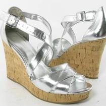 Inc Diana Wedges Silver Womens Size 10 M New 69 Photo