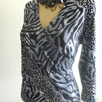 Inc International Concepts  Long Sleeve Tunic Top Size M Photo