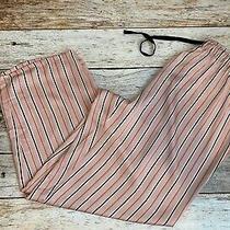 Inc International Concepts Plus 2x/3x Printed Pajama Pants Blushing Striped Pink Photo