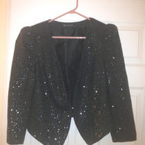 Inc International Concepts Sequin Jacket - M Photo