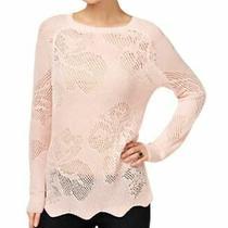 Inc International Concepts Size L Long-Sleeve Sweater Pale Blush Pink Photo