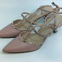 Inc International Concepts Womens Carma 5 Fabric Pointed Toe Blush Size 11.0 J Photo