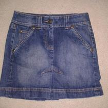 Inc Jean Denim Skirt 2 Photo