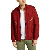 Inc Mens Jacket Red Size Xs Burton Quilted Sherpa Lined Full-Zip 99- 322 Photo