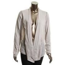 Inc New New Pale Blush Pointelle Open Front Cardigan Sweater Top M 70 Tedo Photo