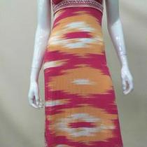 Inc New Womens Petite P Stretch Faux Wrap Empire Maxi Dress Ikat Horizon 1k2p.1 Photo