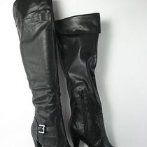 Inc Tessa Over the Knee Boots Black Womens Size 6 M New 100 Photo