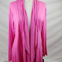 Inc Womens New Candy Pink Wrap / Cardigan Size Xlarge Nwt Photo