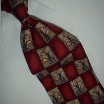 Incredible Tommy Bahama Red Golf Clubs Silk Tie 59
