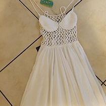 Indah Crochet White Xs Dress  Photo