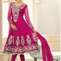 Indian Bollywood Designer Gorgeous Fancy Trendy Salwar Kameez Gs Ch 17837 Photo