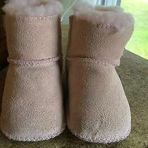 Infant Baby Pink Ugg Boots Size Small  Photo