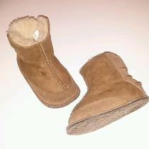 Infant Baby Tan Authentic Ugg Boots Photo
