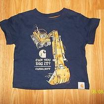 Infant Boys Carhartt Tee Size 3 Months Photo