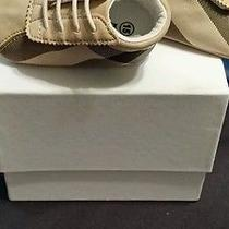Infant Burberry Authentic Crib Shoe Photo