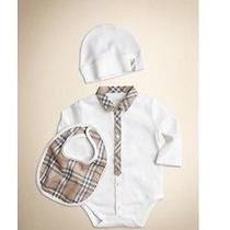 Infant Burberry Gift  Photo