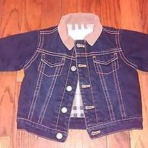 Infant Burberry Jean Jacket  Photo