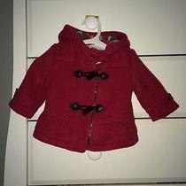 Infant Burberry Wool Coat Size 6m Photo