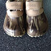 Infant Camo Crocs Size 6-7 Photo