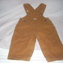 Infant Carhartt Bib Overalls  Sz. 6 Months Photo