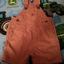 Infant Carhartt Shorts Overalls Photo