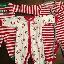 Infant Christmas Pajama Lot Photo