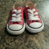 Infant Converse Shoes Size 2c Photo