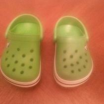 Infant Crocs Size 4-5 Photo