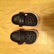 Infant Crocs Size 4 Blue Photo