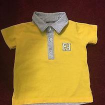Infant Fendi Collar Shirt (6-9 Months)  Photo
