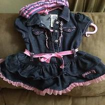 Infant Girl 3-6month Guess Dress With Diaper Cover Photo