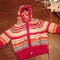 Infant Girl Baby Gap Sweater 3-6  Months Free Ship Photo