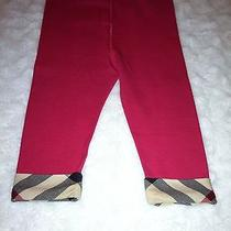 Infant Girl Burberry Pants Photo