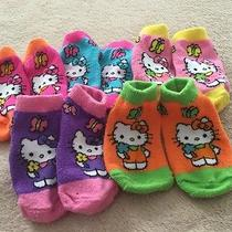 Infant Girl Hello Kitty Socks Lot of 5 Photo