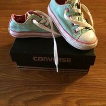 Infant Girls Converse Size 7  Photo