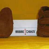 Infant Minnetonka Moccasin Bootie Photo