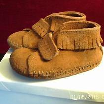 Infant Minnetonka Pa-Poo-Shu Infant Size 2 New in Box Photo