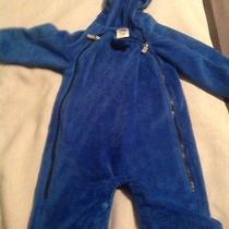 Infant North Face Fleece Suit Photo