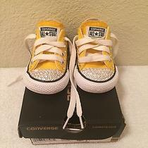 Infant's Converse - Yellow Size 3 Photo