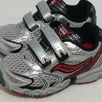 Infant Saucony Velcro Athletic Shoes Size 5c Photo
